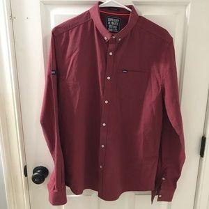 Superdry Ultimate Oxford Shirt Regular Fit Size L